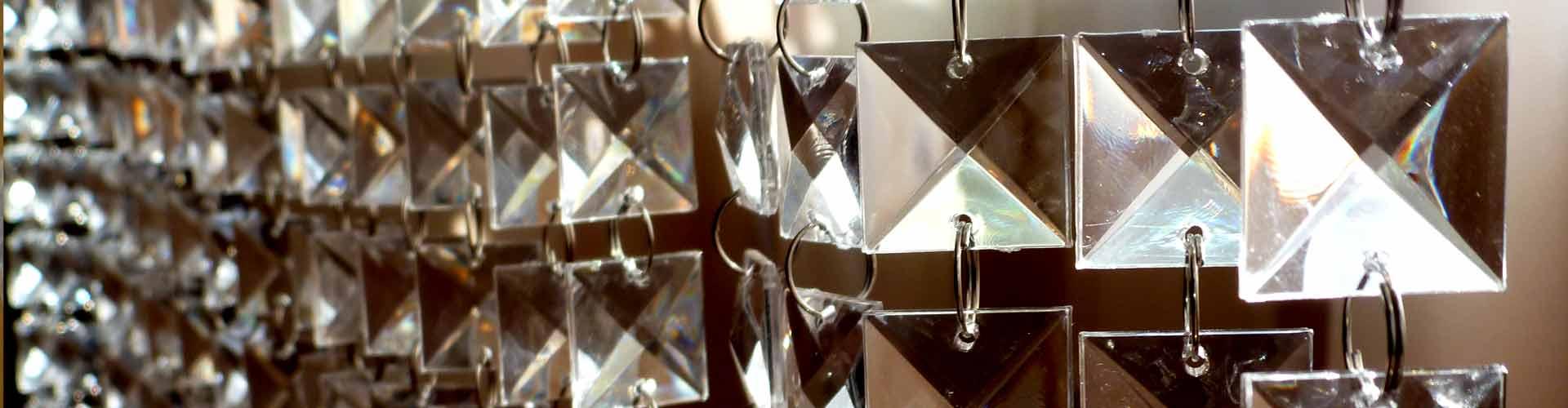 Шторы из кристаллов