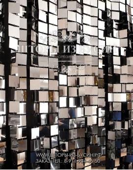 "Зеркальные шторы ""Квадрат 50"""